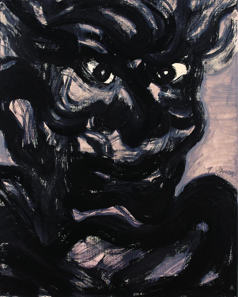 眾生相系列 Sentient Beings Series 100x80cm 2011 壓克力‧畫布  Acrylic on canvas(1).jpg