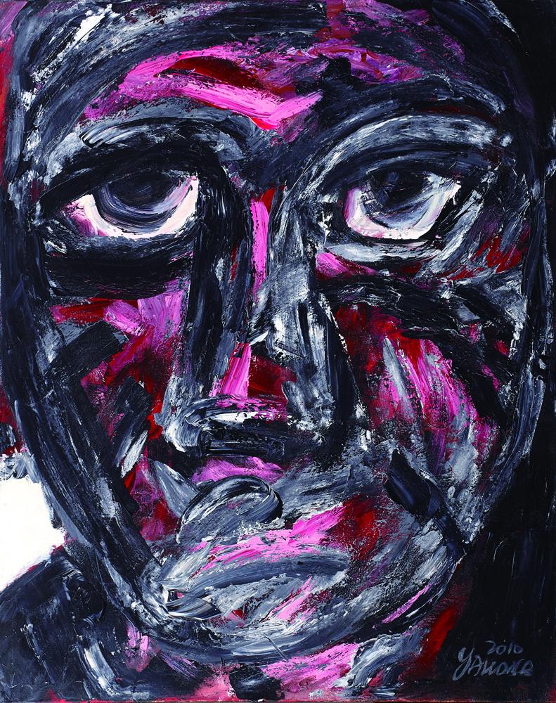 眾生相系列 Sentient Beings Series 100x80cm 2011 壓克力‧畫布  Acrylic on canvas(12).jpg