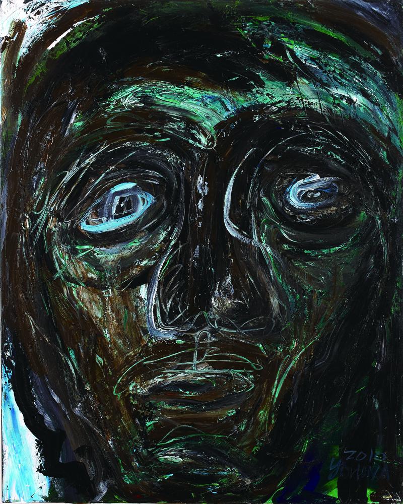 眾生相系列 Sentient Beings Series 100x80cm 2011 壓克力‧畫布  Acrylic on canvas(19).jpg