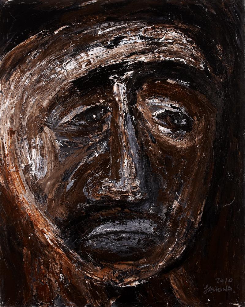 眾生相系列 Sentient Beings Series 100x80cm 2011 壓克力‧畫布  Acrylic on canvas(20).jpg