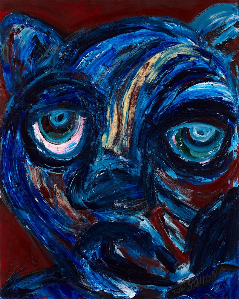 眾生相系列 Sentient Beings Series 100x80cm 2011 壓克力‧畫布  Acrylic on canvas(22).jpg