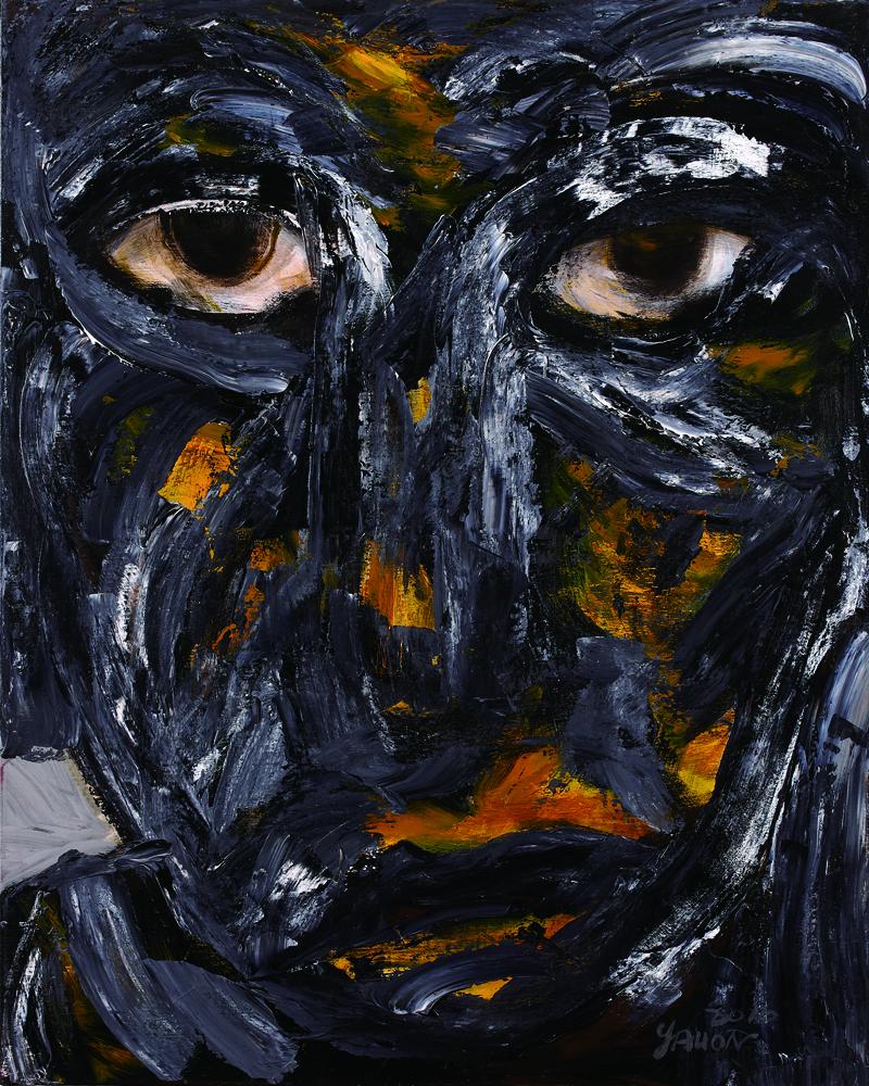 眾生相系列 Sentient Beings Series100x80cm 2011 壓克力‧畫布  Acrylic on canvas(21).jpg