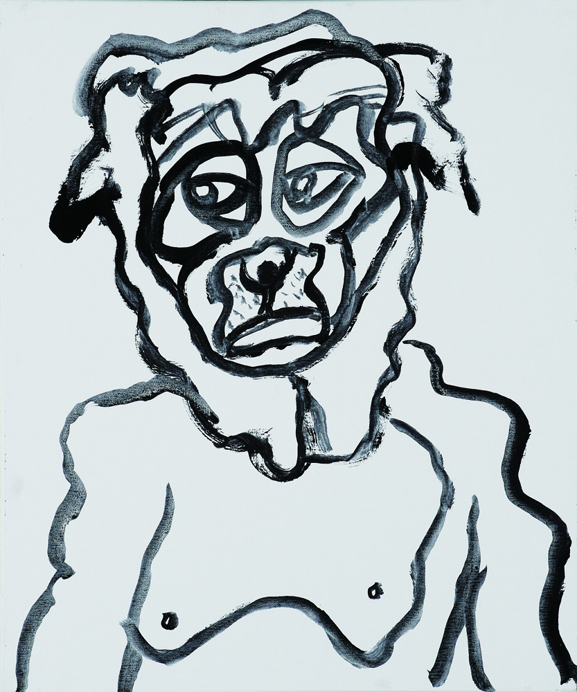 動物系列 - 狗 Animal Series - Dog 72.5x61cm 2007 壓克力‧畫布 Acrylic on Canvas (11).jpg