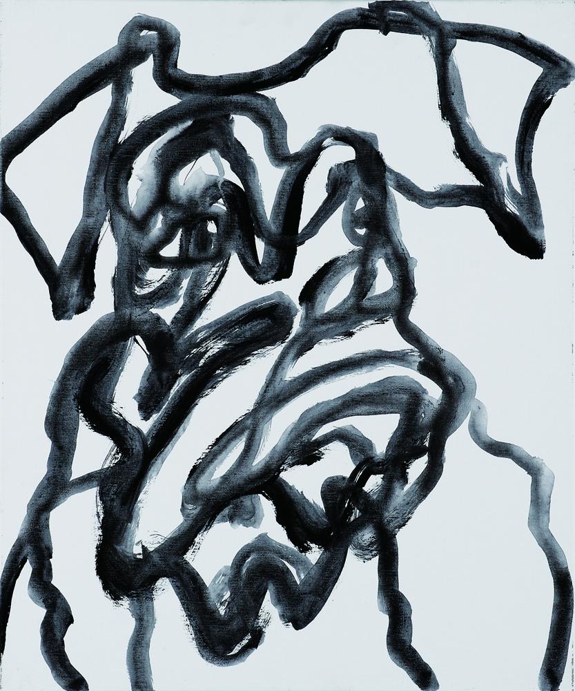 動物系列 - 狗 Animal Series - Dog 72.5x61cm 2007 壓克力‧畫布 Acrylic on Canvas (3).jpg