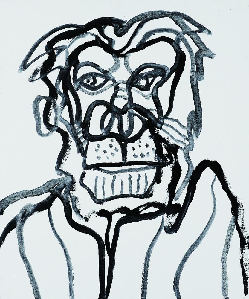 動物系列 - 狗 Animal Series - Dog 72.5x61cm 2007 壓克力‧畫布 Acrylic on Canvas (19).jpg