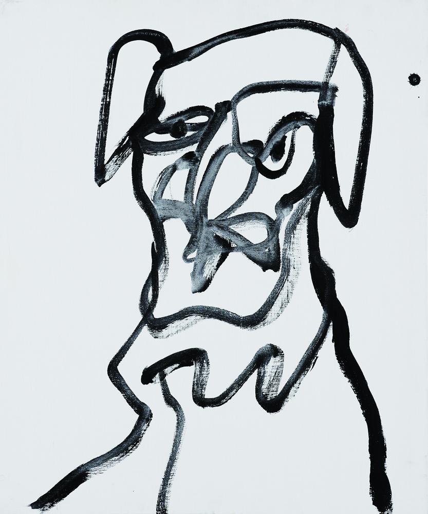 動物系列 - 狗 Animal Series - Dog 72.5x61cm 2007 壓克力‧畫布 Acrylic on Canvas (23).jpg