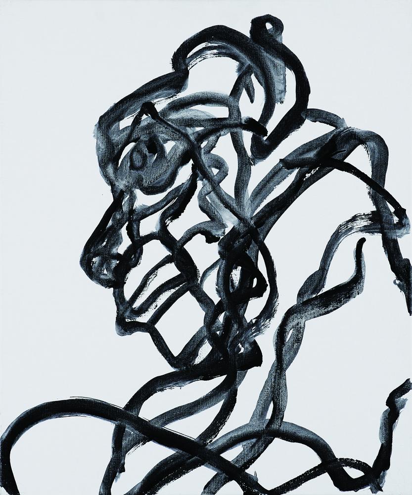 動物系列 - 猴 Animal Series - Monkey 72.5x61cm 2007 壓克力‧畫布 Acrylic on Canvas (2).jpg