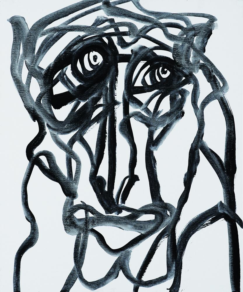 動物系列 - 猴 Animal Series - Monkey 72.5x61cm 2007 壓克力‧畫布 Acrylic on Canvas (4).jpg