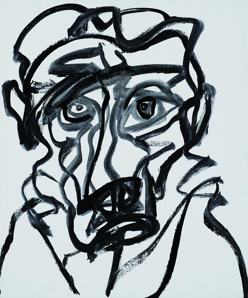 動物系列 - 猴 Animal Series - Monkey 72.5x61cm 2007 壓克力‧畫布 Acrylic on Canvas (7).jpg