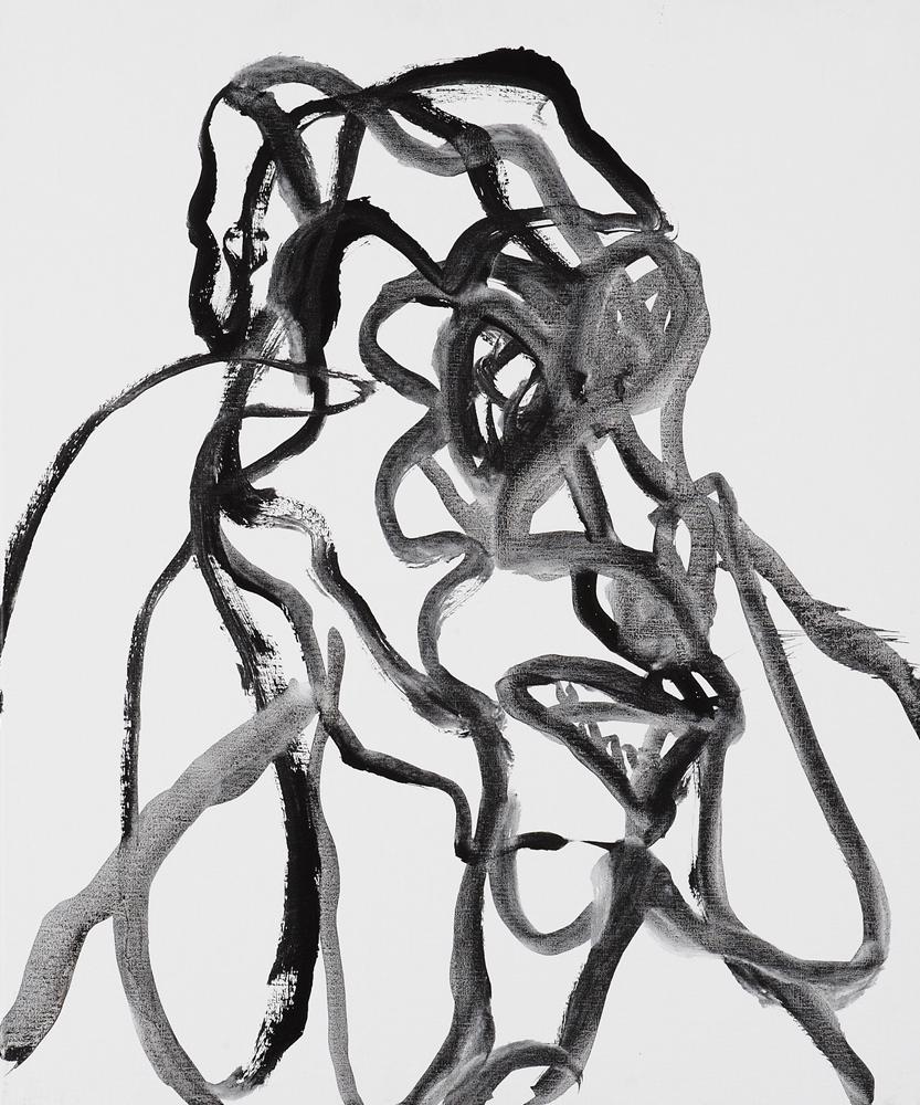 動物系列 - 猴 Animal Series - Monkey 72.5x61cm 2007 壓克力‧畫布 Acrylic on Canvas (10).jpg