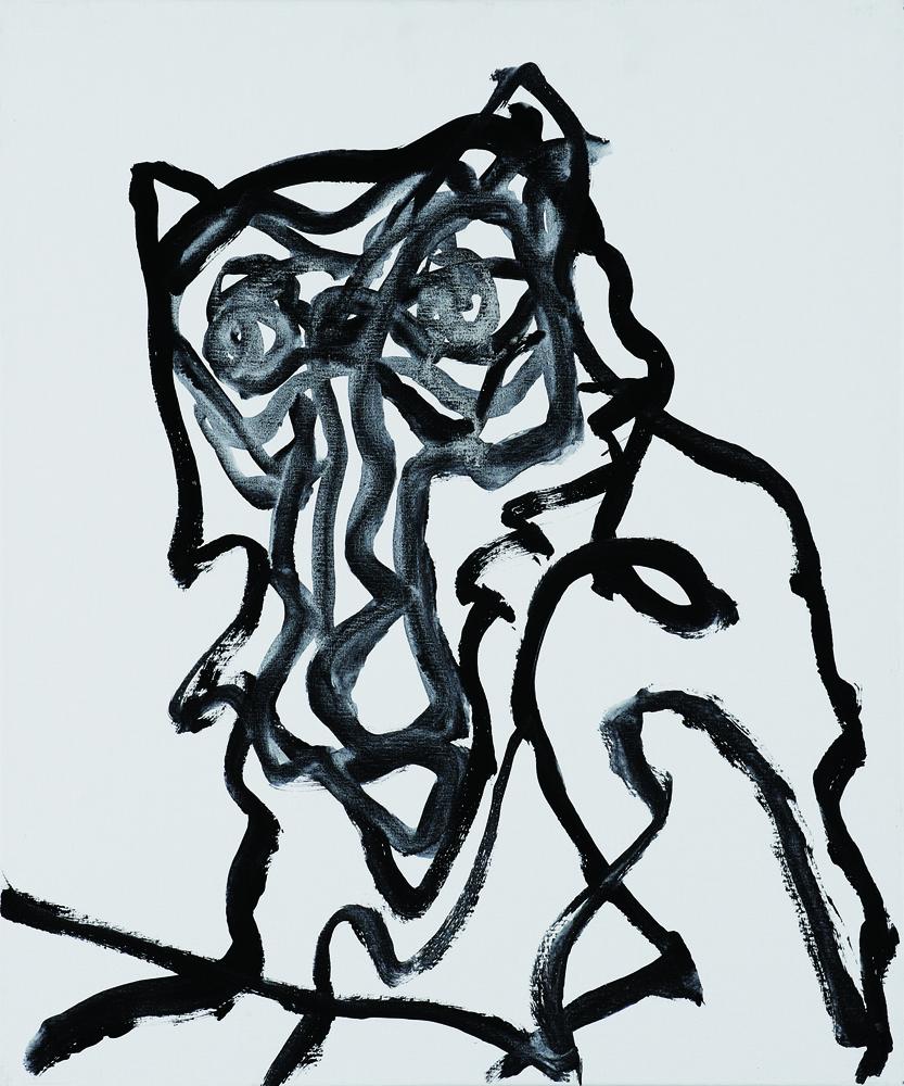動物系列 - 猴 Animal Series - Monkey 72.5x61cm 2007 壓克力‧畫布 Acrylic on Canvas (9).jpg
