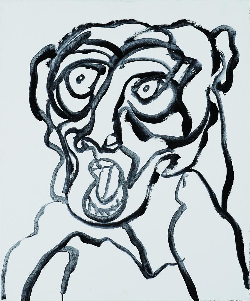 動物系列 - 猴 Animal Series - Monkey 72.5x61cm 2007 壓克力‧畫布 Acrylic on Canvas (14).jpg