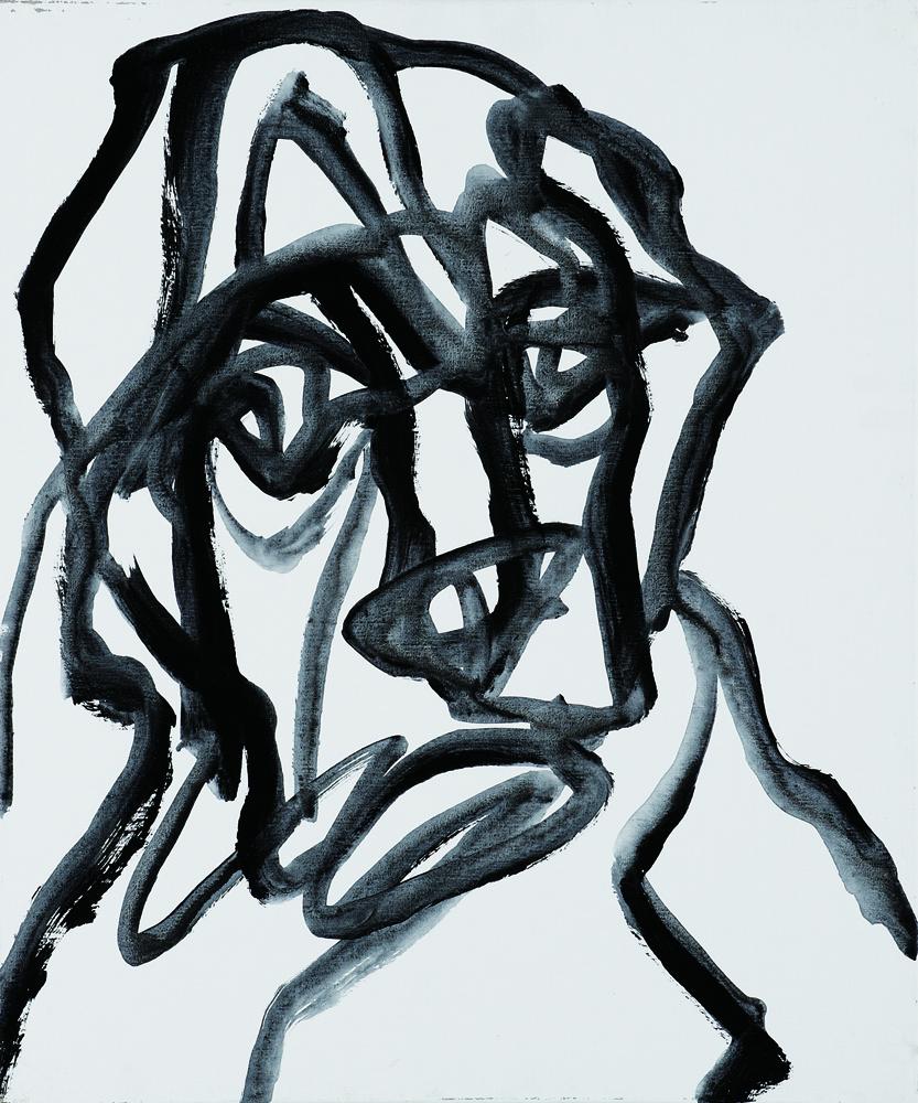 動物系列 - 猴 Animal Series - Monkey 72.5x61cm 2007 壓克力‧畫布 Acrylic on Canvas (16).jpg
