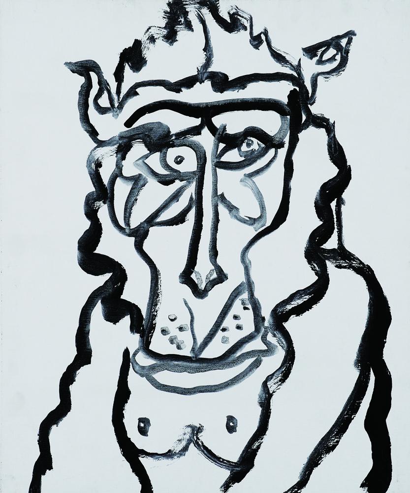 動物系列 - 猴 Animal Series - Monkey 72.5x61cm 2007 壓克力‧畫布 Acrylic on Canvas (24).jpg