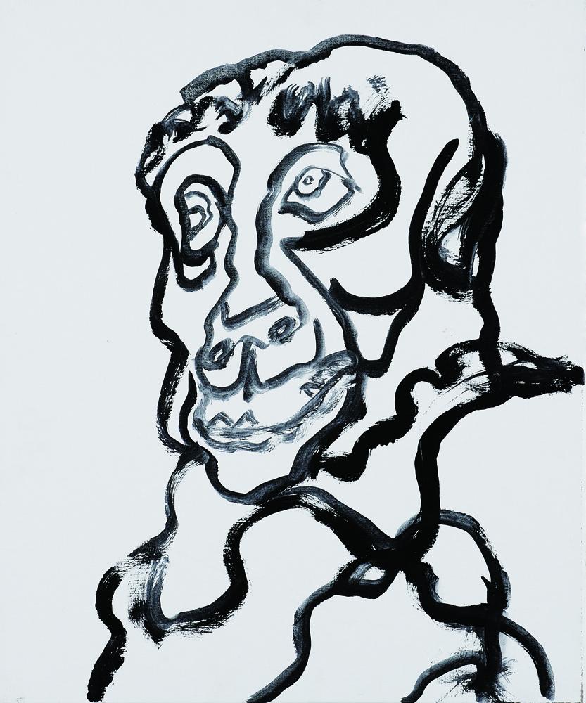 動物系列 - 猴 Animal Series - Monkey 72.5x61cm 2007 壓克力‧畫布 Acrylic on Canvas (26).jpg