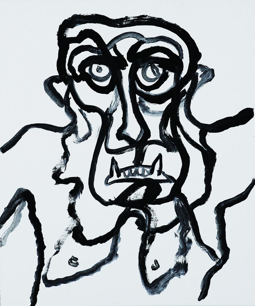 動物系列 - 猴 Animal Series - Monkey 72.5x61cm 2007 壓克力‧畫布 Acrylic on Canvas (28).jpg