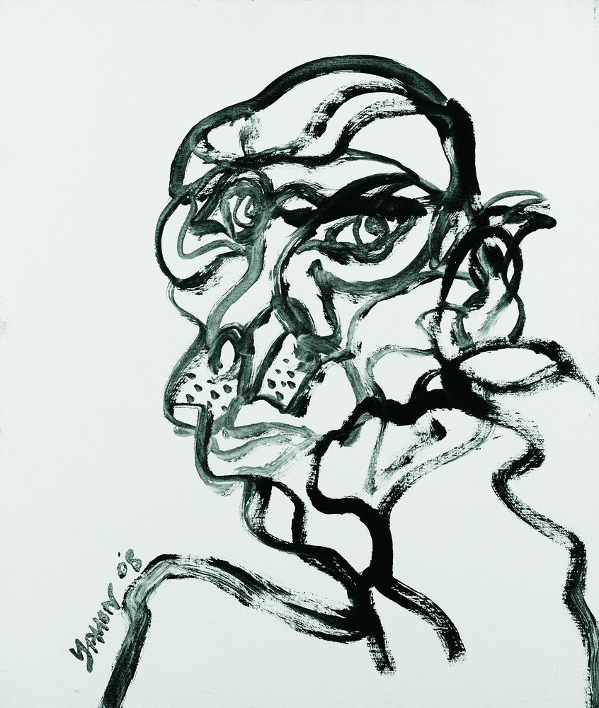 動物系列 - 猴 Animal Series - Monkey 72.5x61cm 2007 壓克力‧畫布 Acrylic on Canvas (29).jpg