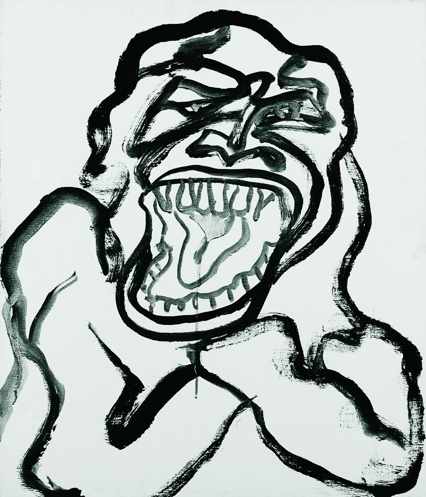 動物系列 - 猴 Animal Series - Monkey 72.5x61cm 2007 壓克力‧畫布 Acrylic on Canvas (30).jpg