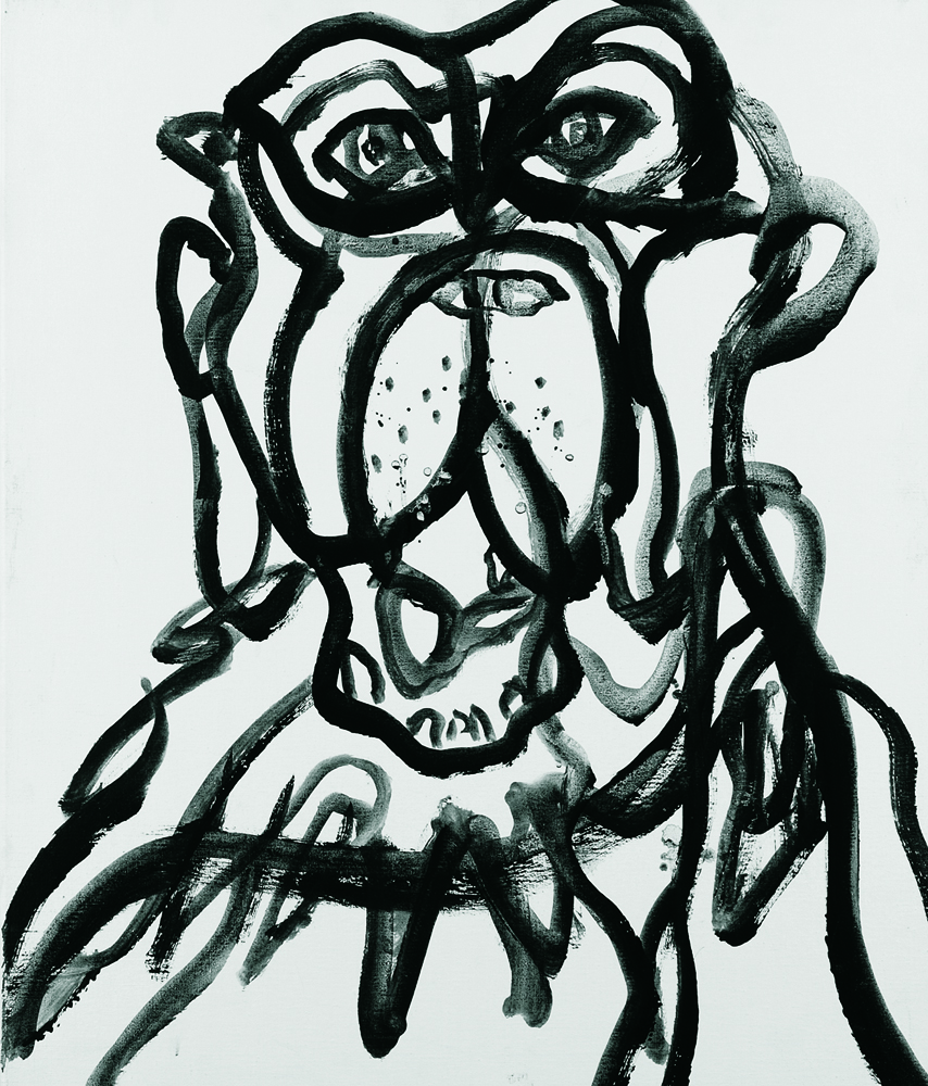 動物系列 - 猴 Animal Series - Monkey 72.5x61cm 2007 壓克力‧畫布 Acrylic on Canvas (31).jpg