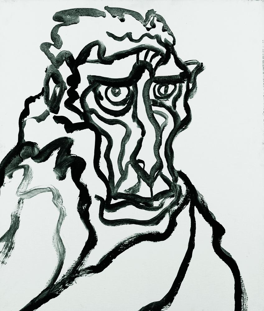 動物系列 - 猴 Animal Series - Monkey 72.5x61cm 2007 壓克力‧畫布 Acrylic on Canvas (33).jpg