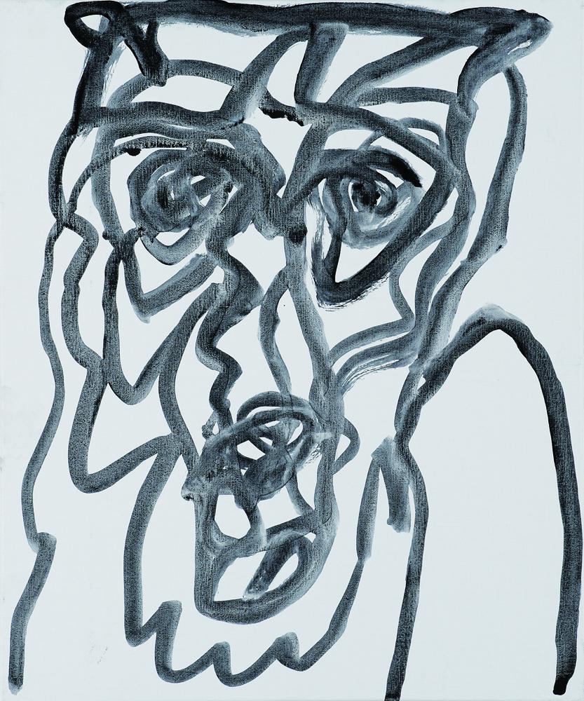 動物系列 - 猴 Animal Series - Monkey 72.5x61cm 2007 壓克力‧畫布 Acrylic on Canvas(6).jpg