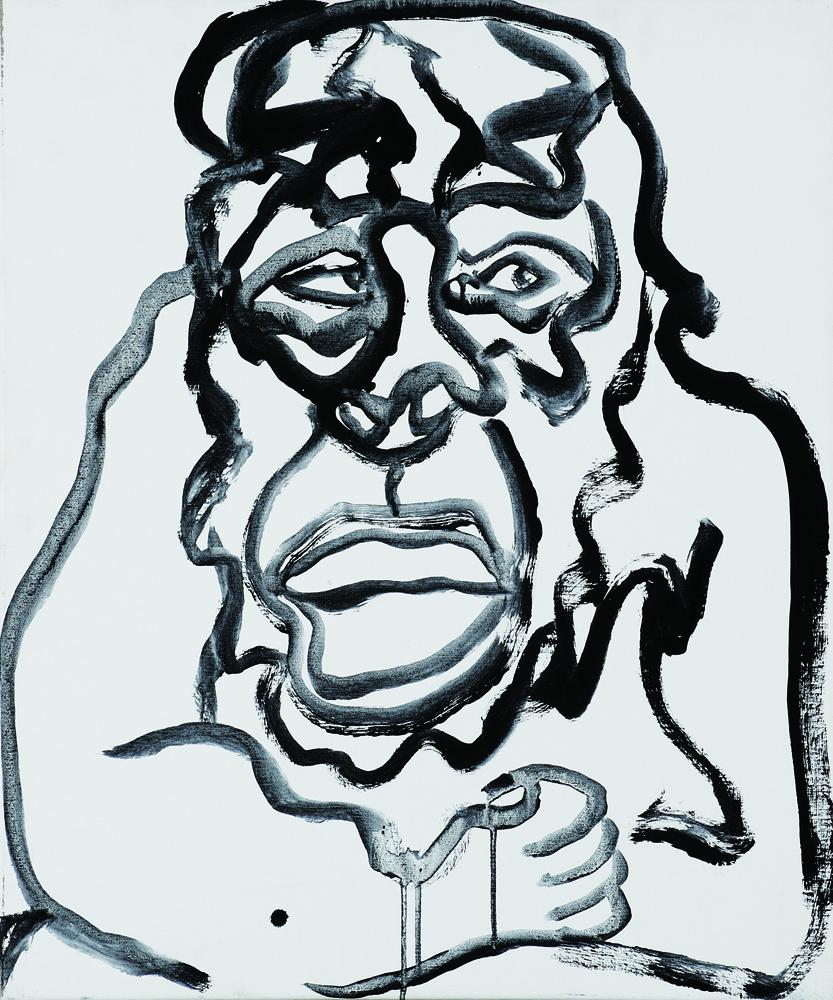 動物系列 - 猴 Animal Series - Monkey 72.5x61cm 2007 壓克力‧畫布 Acrylic on Canvas(21).jpg
