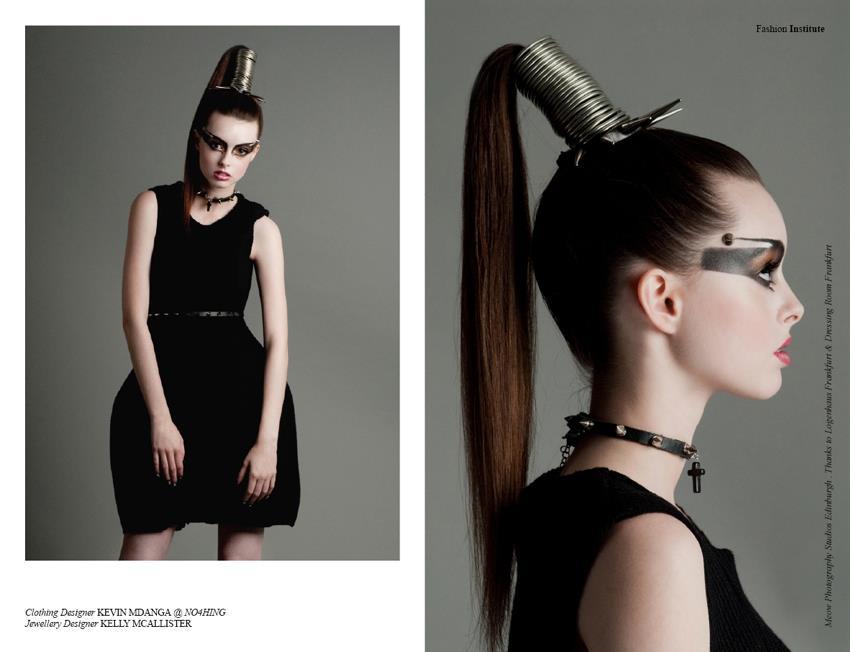 Fashion editorial for Institute Fashion Magazine