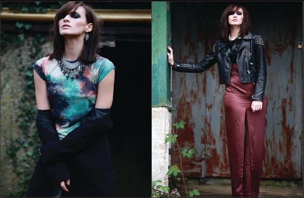 Fashion editorial for Imagine Fashion Magazine
