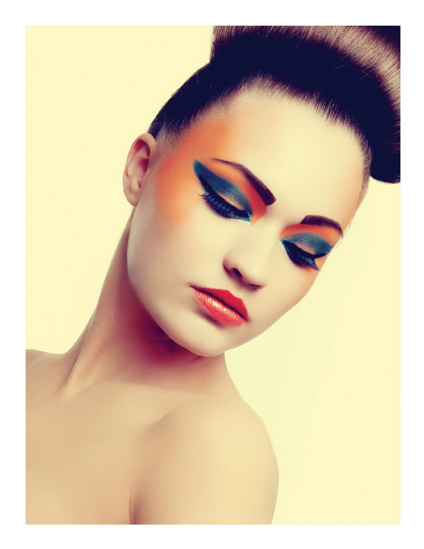 Futuristic Beauty Shoot Published in Ellements Magazine (NYC)