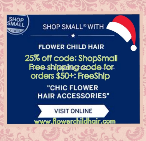 Click to shop Small Business Saturday Specials!