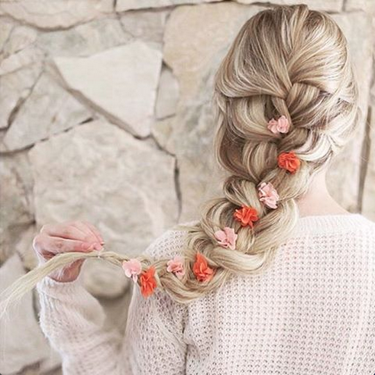 Soft French Braid