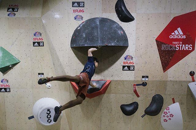 #adidasrockstars @adidasrockstars @adidasterrex @adidastokyo @bpump_ogikubo 📷 @toksuede #ryuvoelkel #bouldering #ボルダリング @kai_hrd