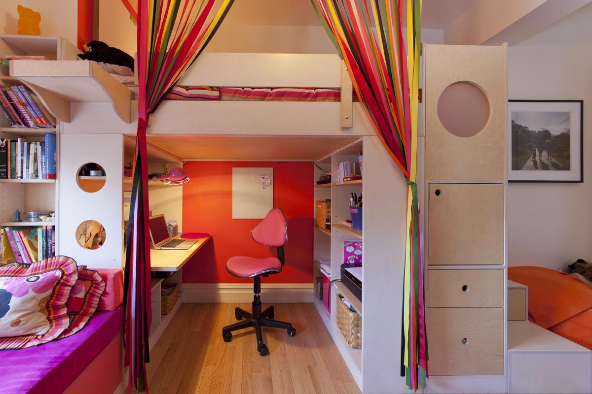 casa kids loft bed