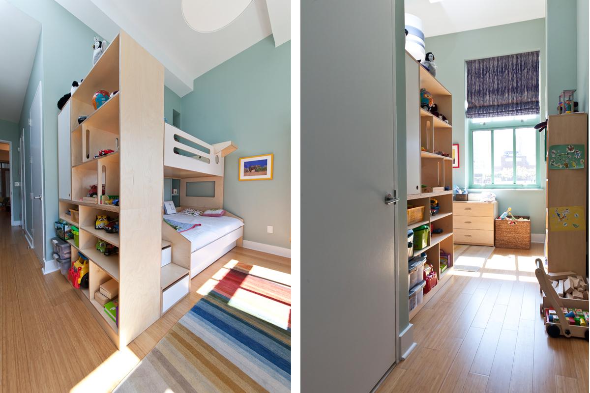 casa kids open storage bookshelf