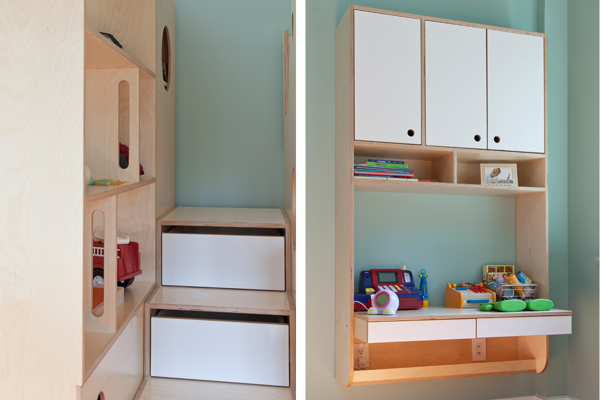 casa kids bunk bed with storage stairs