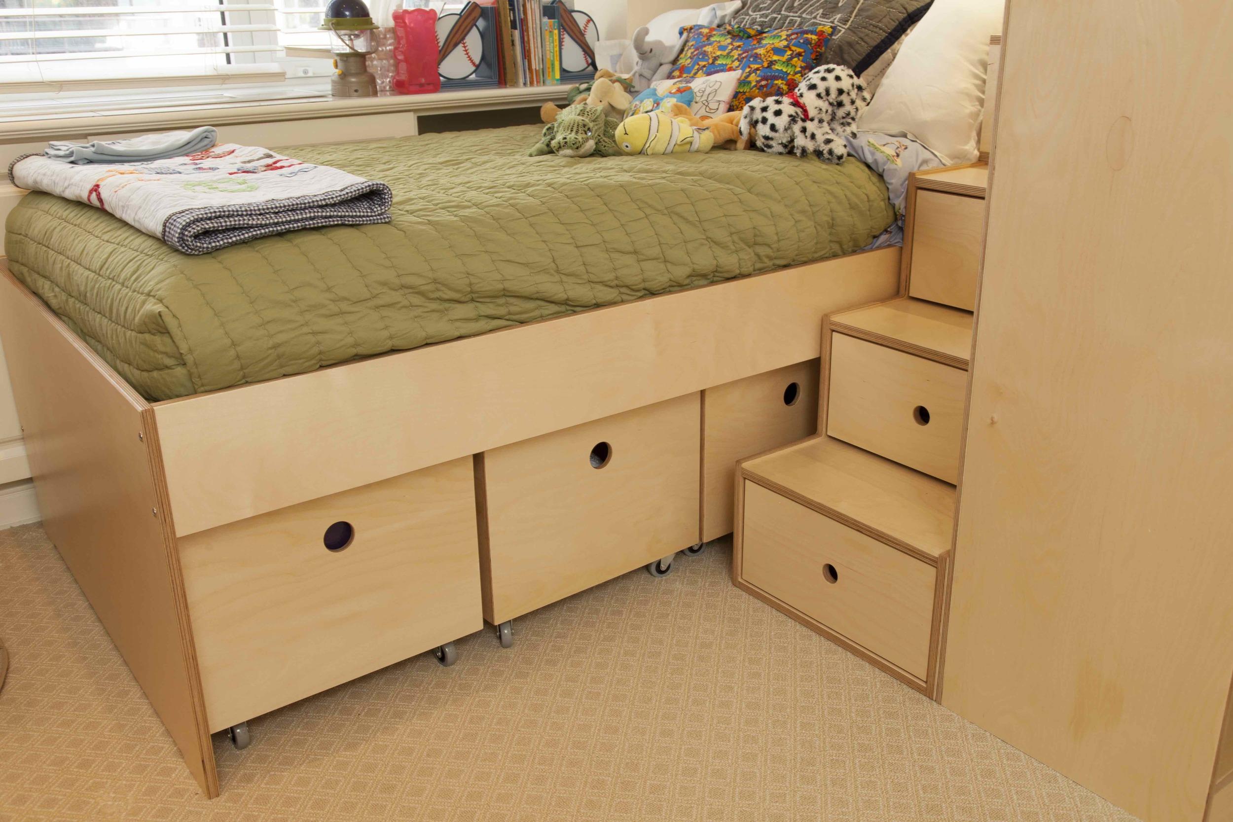 casa kids-storage on wheels- kids furniture