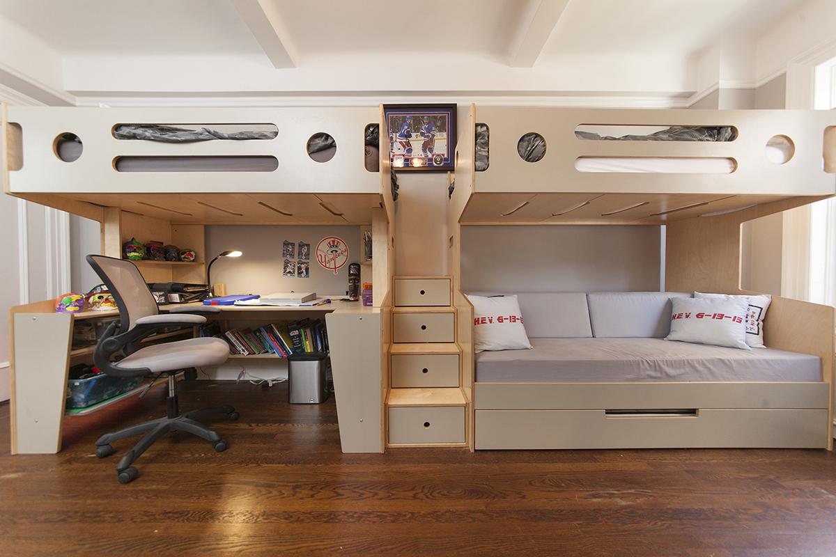 casa kids-marino bunk bed-vogel