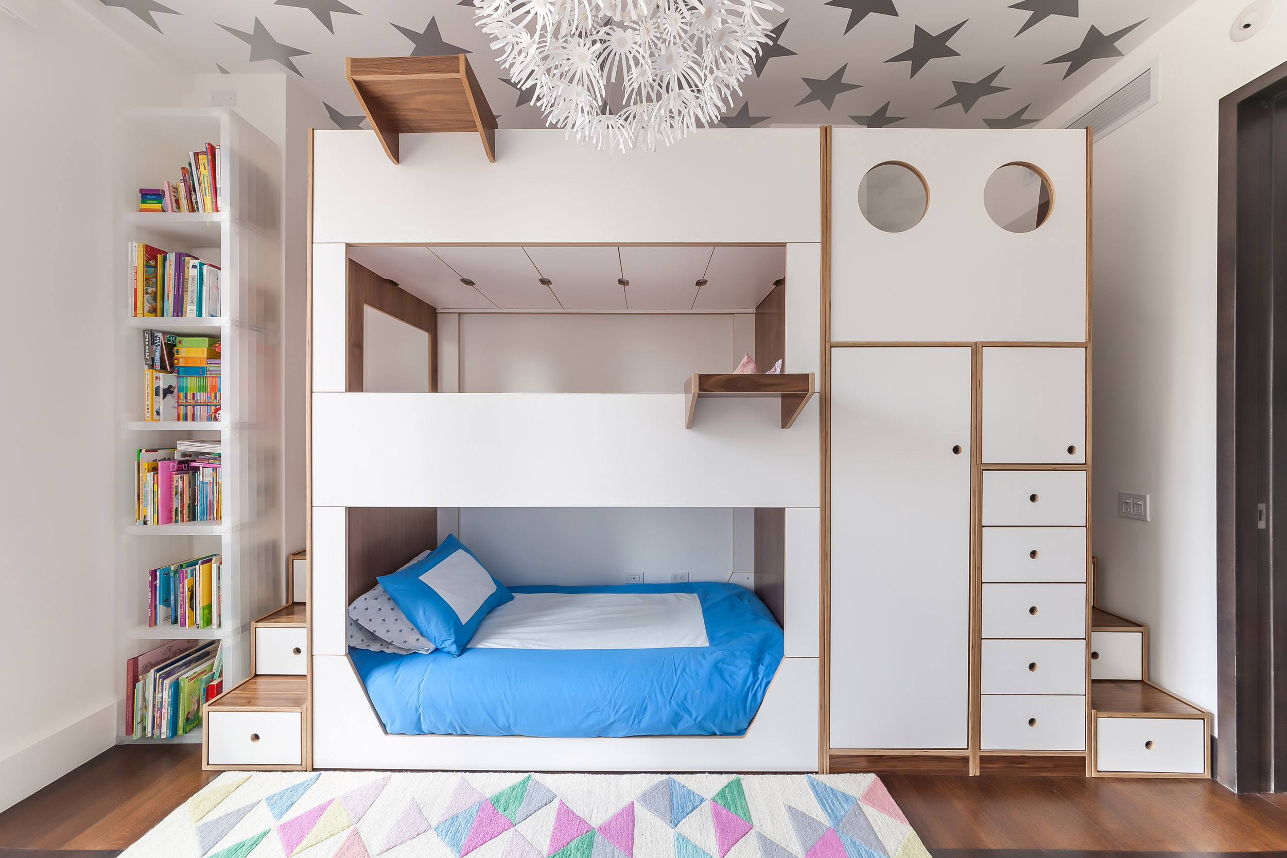 Triple walnut and white bunk bed w custom staircases_06.jpg