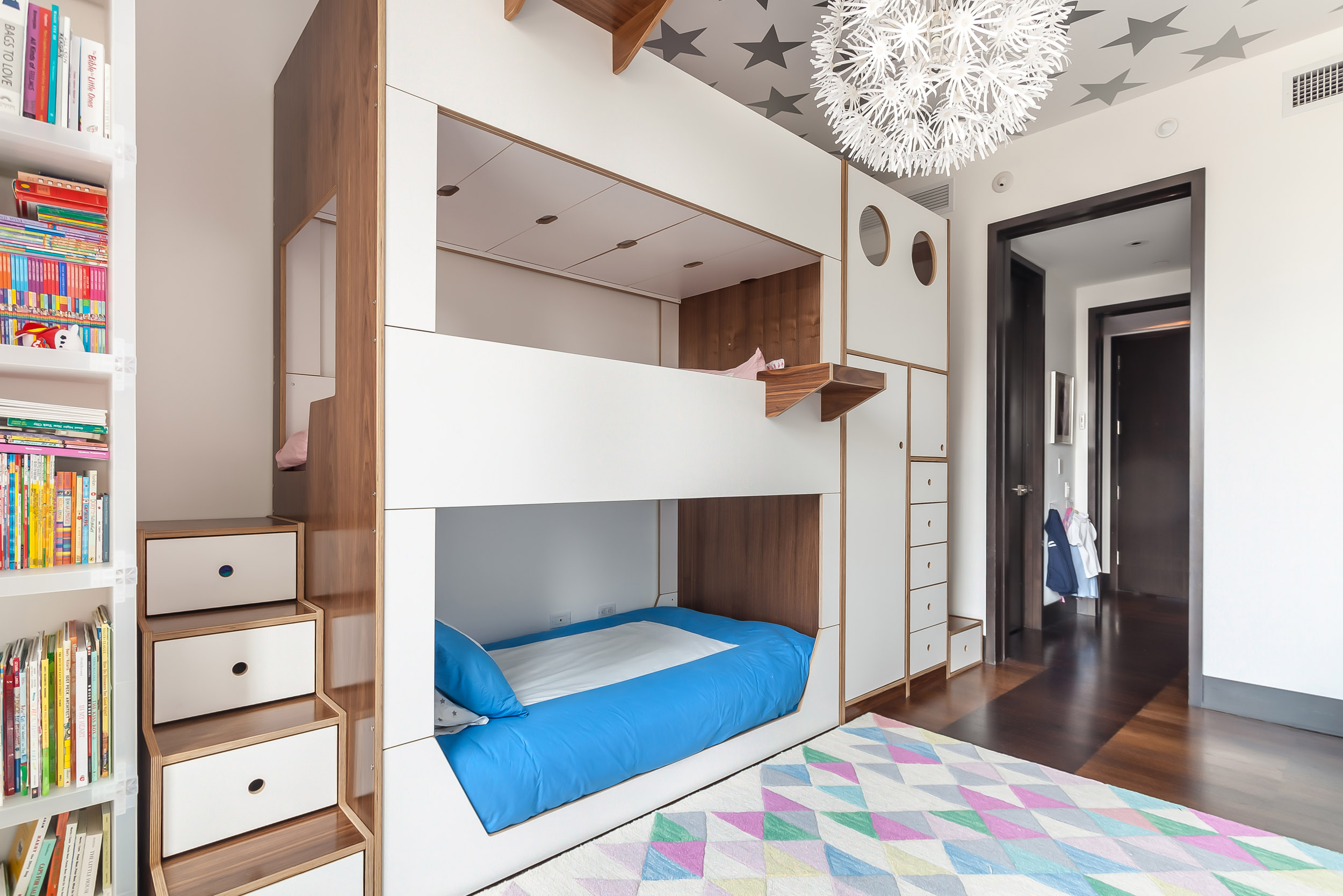 Triple walnut and white bunk bed w custom staircases_05.jpg