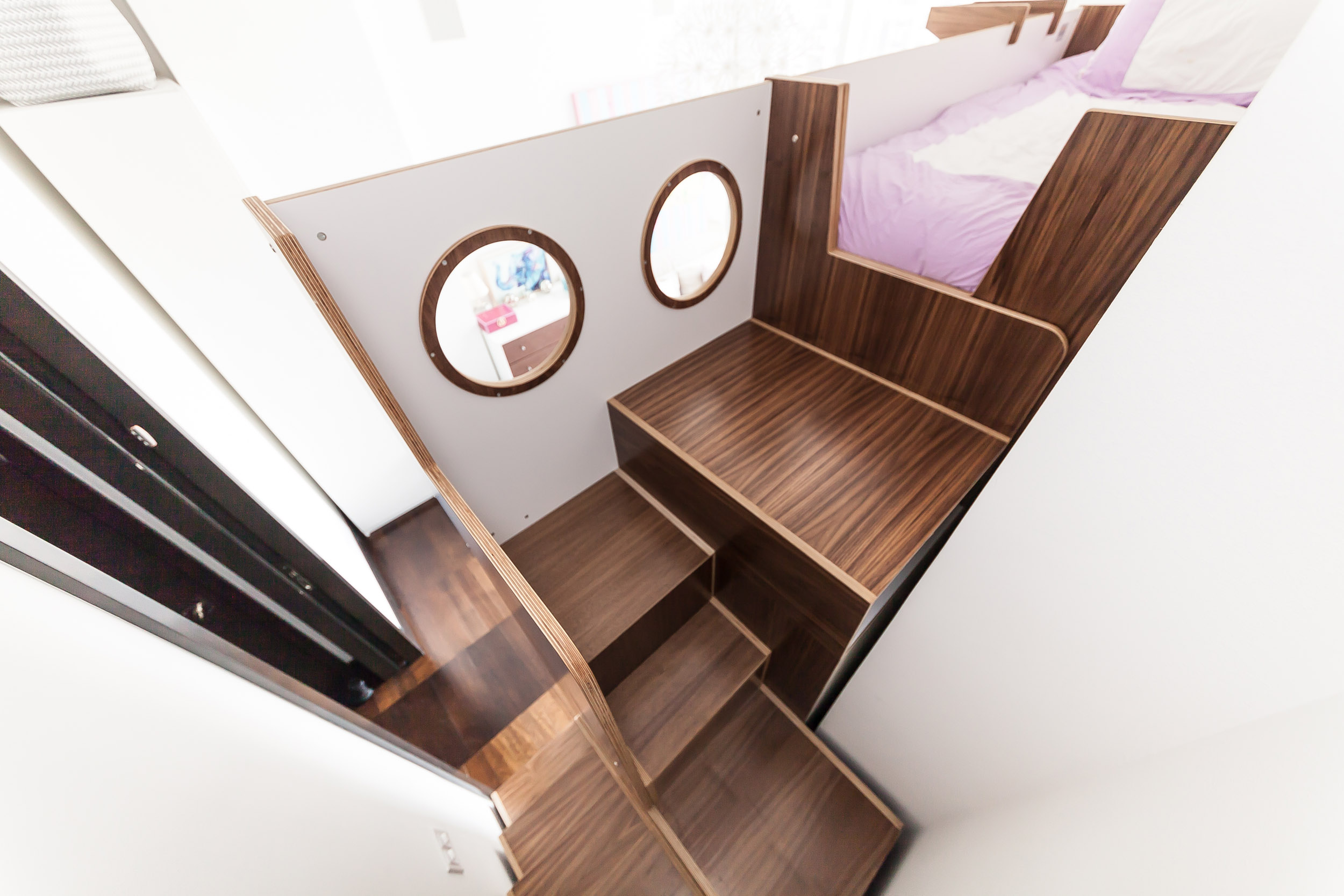 Triple walnut and white bunk bed w custom staircases_07.jpg