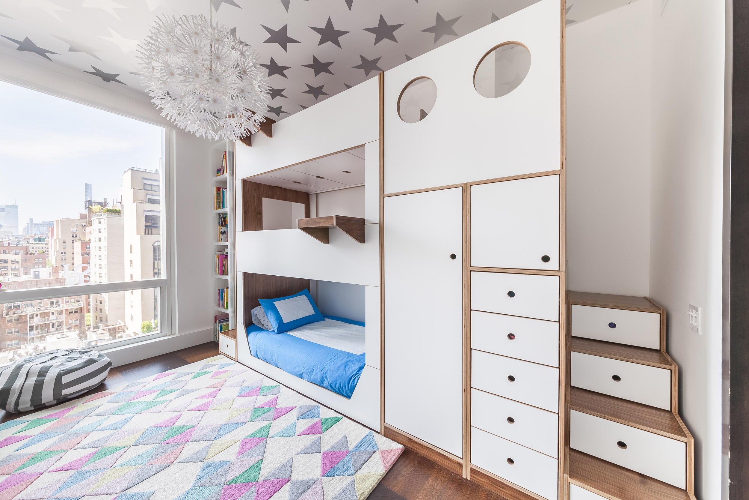 Triple walnut and white bunk bed w custom staircases_04.jpg