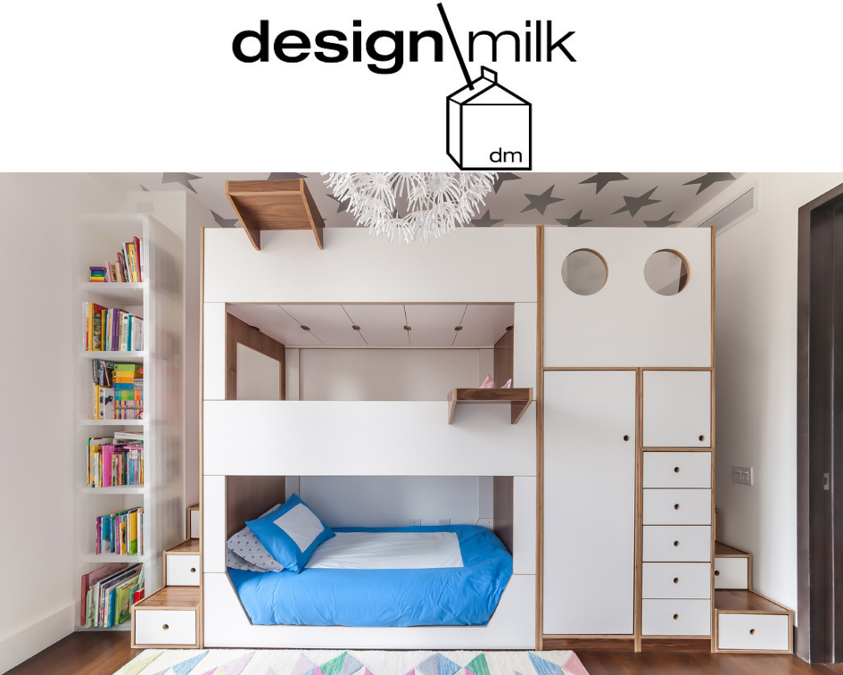Design Milk: Triple Bunk Bed