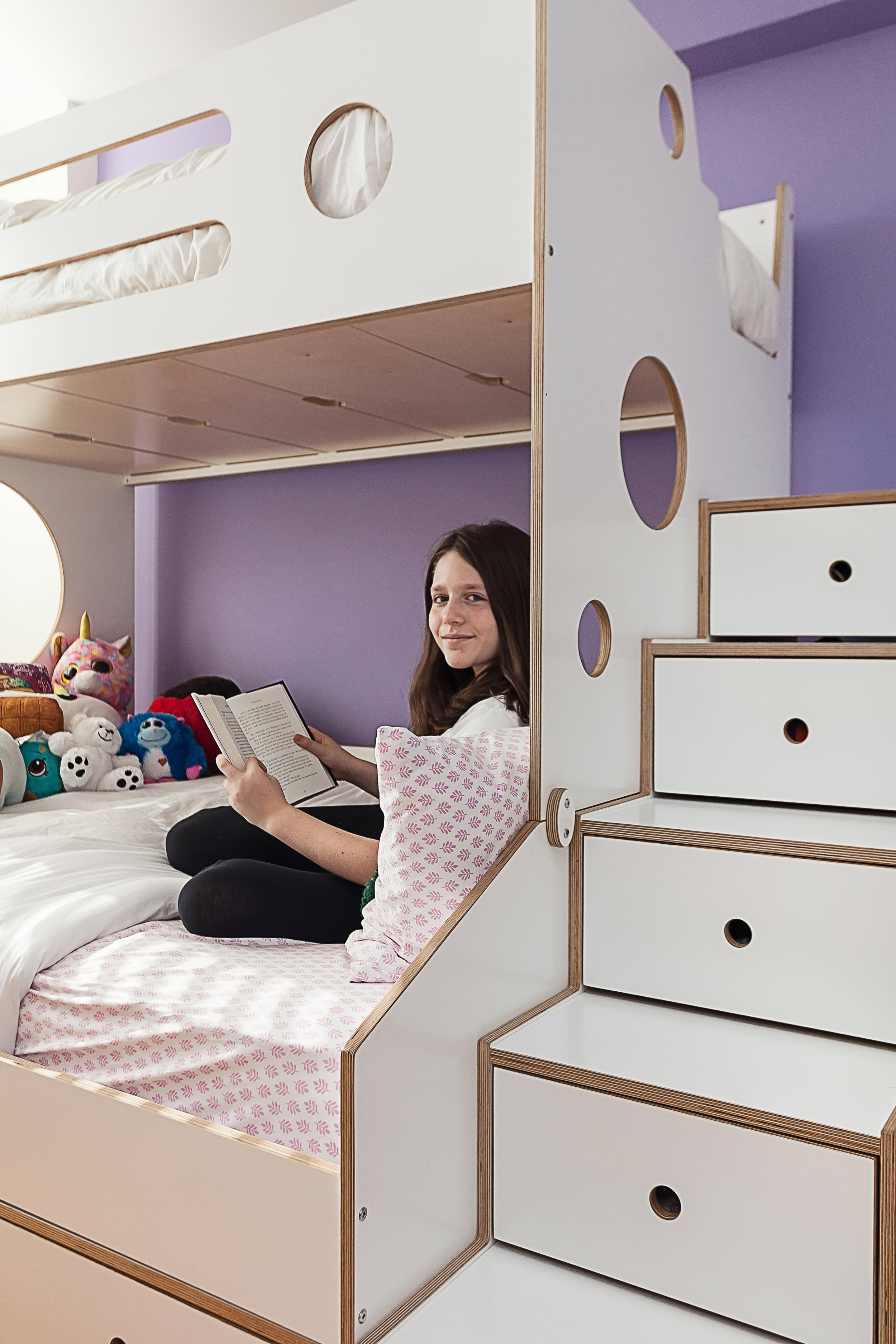 Full modern bunk bed casa kids