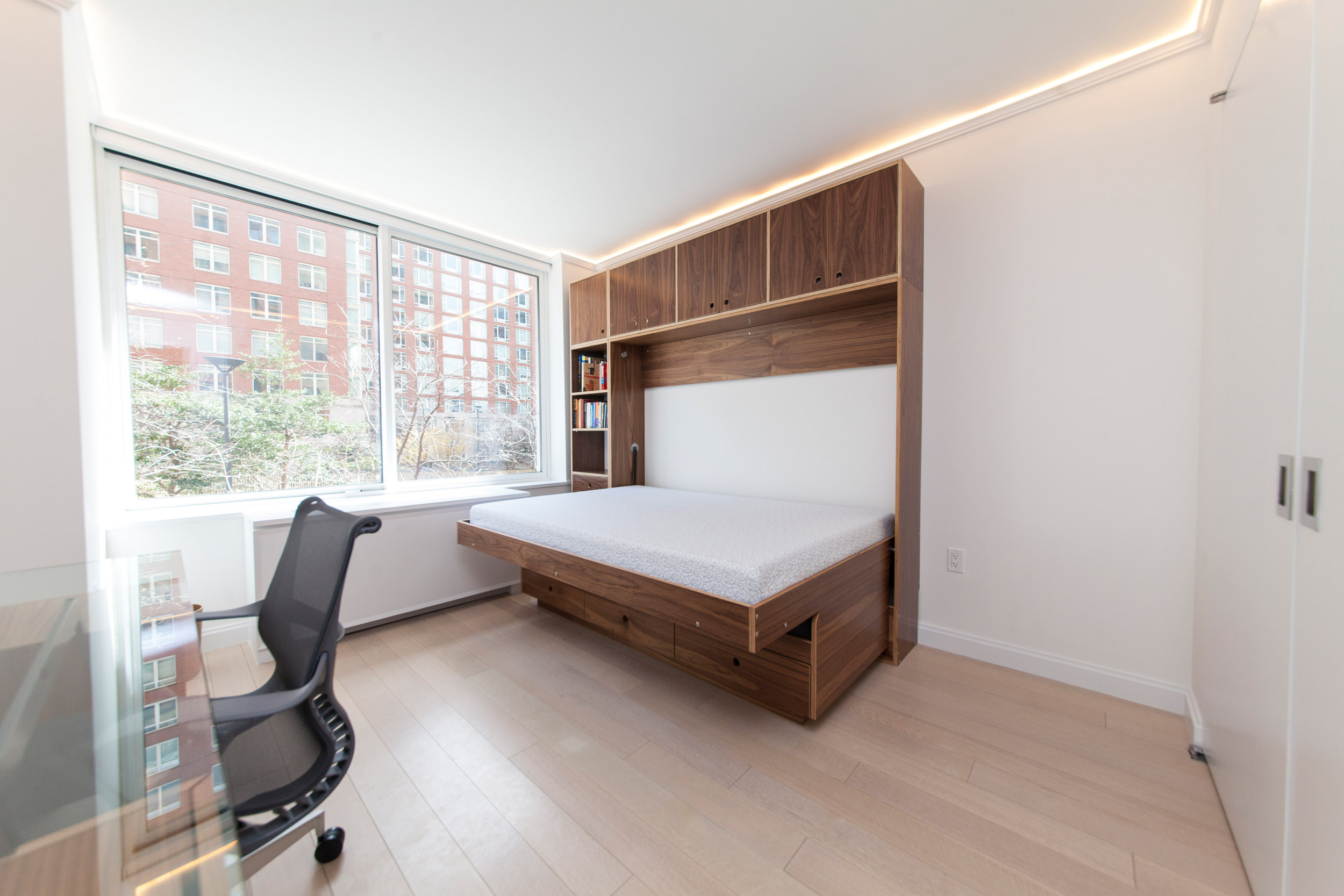 casa kids modern murphy bed