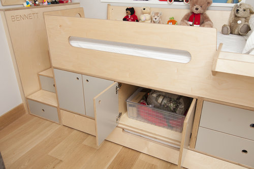 Inside look at our Dumbo Storage bed
