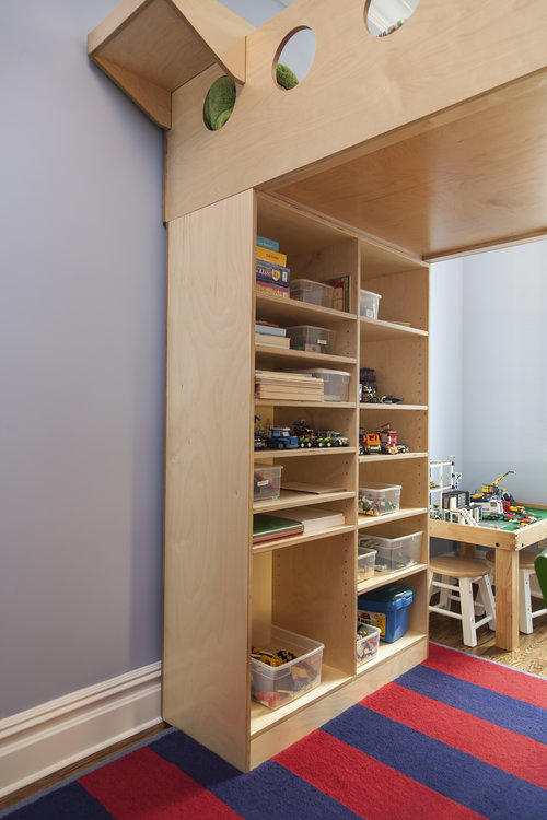 Open shelving fo