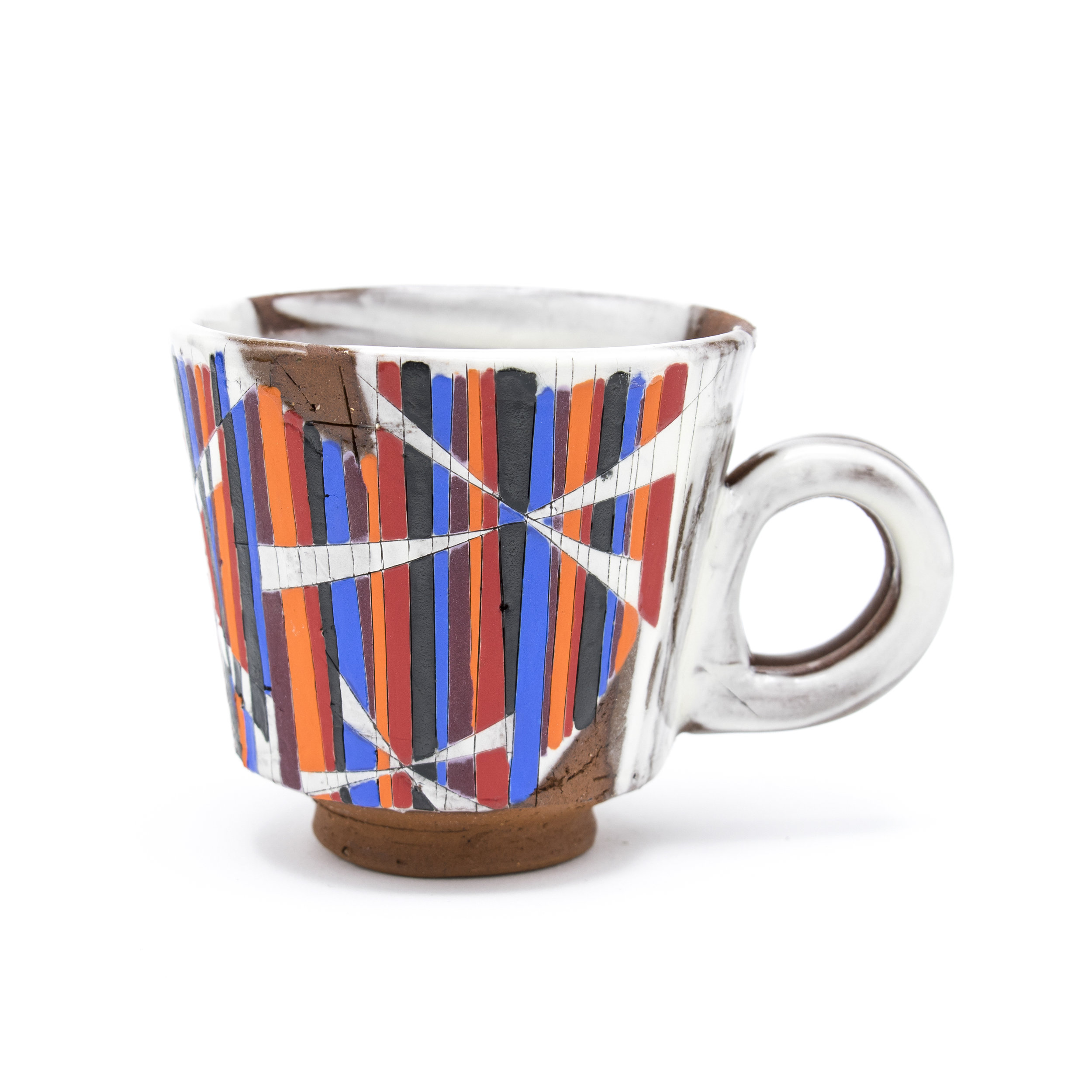 Straight Walled Mug