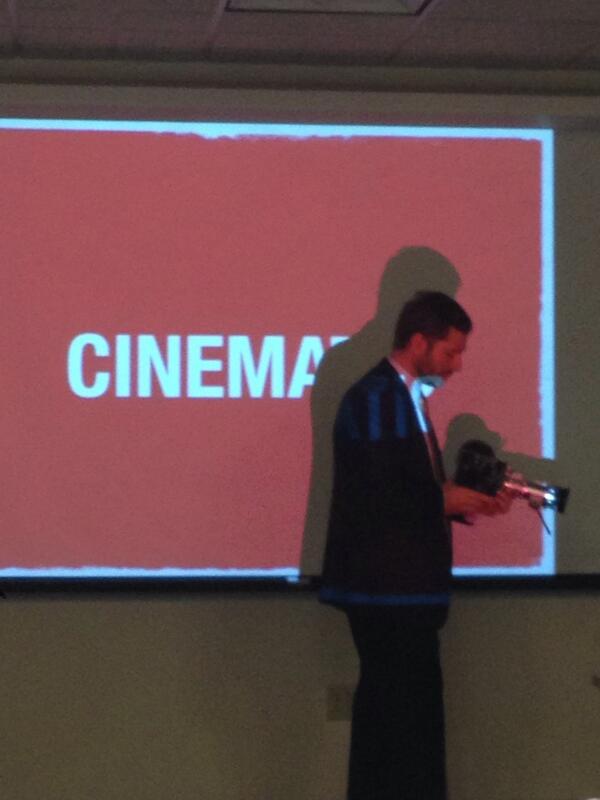 Cinema by  @asymco 's Horace Dediu. Airshow Event, Boston