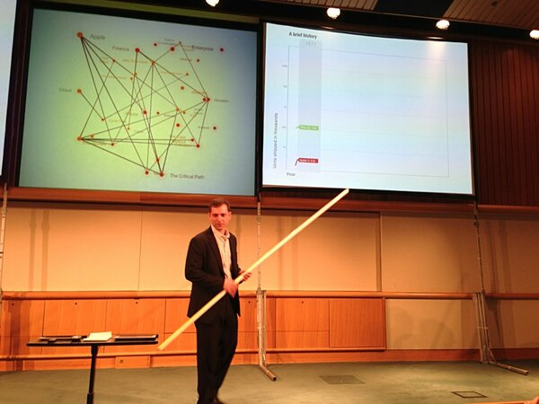 Talk fast and carry a big straw  @asymco