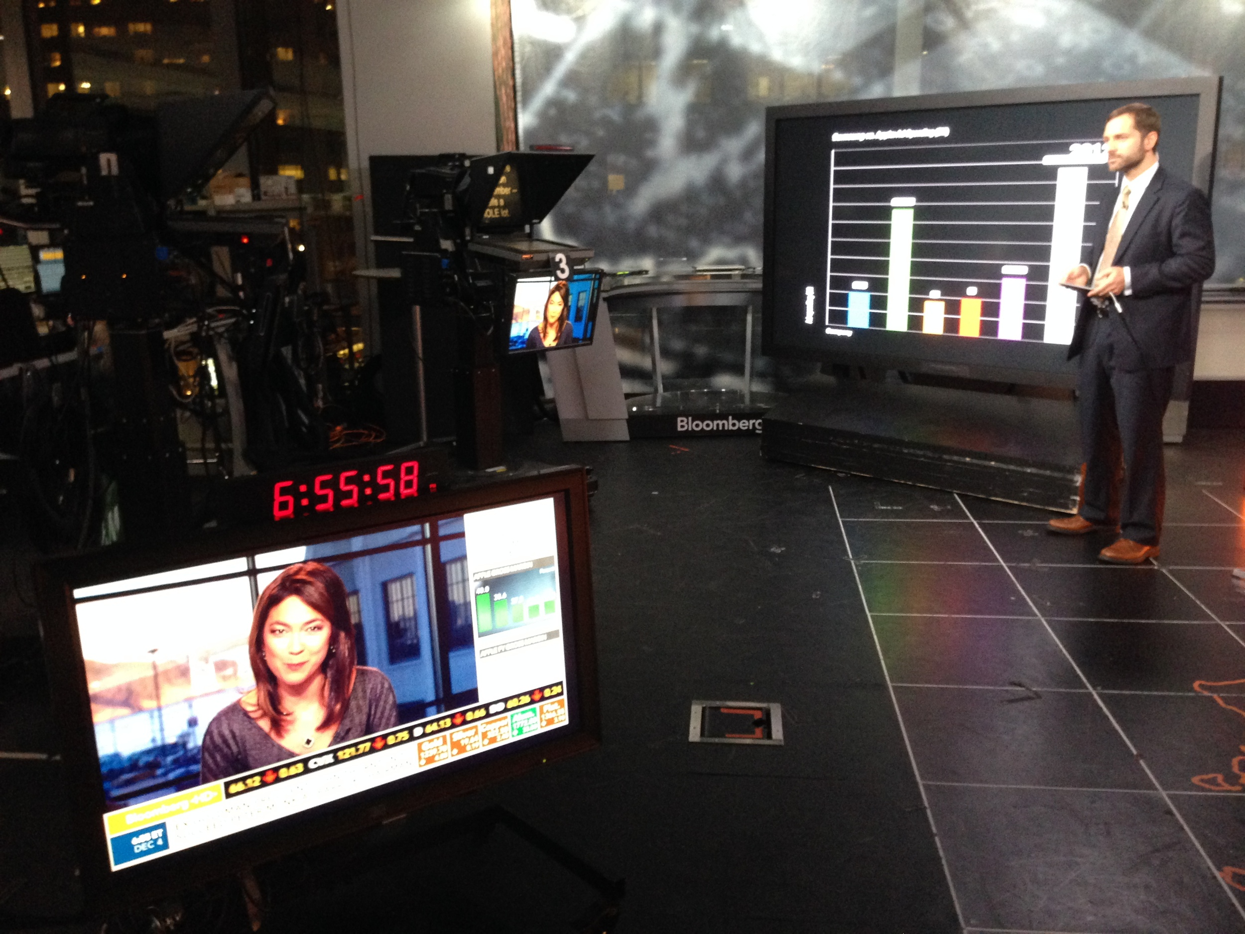 @asymco  far more accurate than any meteorologist with  @pixxa   @BloombergTV   @BloombergWest  with  @EmilyChang  tv